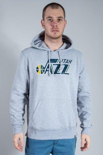 Bluza 47 Brand Hoodie Utah Jazz Melange
