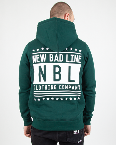 Bluza New Bad Line Hoodie Swag Green