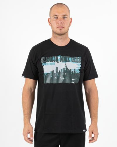 Koszulka Chada Szanuje Mnie Ulica Black