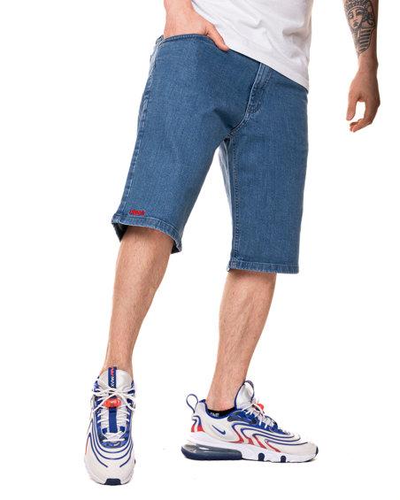 Krótkie Spodenki Jeansowe Prosto Direct Blue