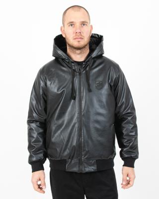 Kurtka Dudek P56 Herb Leather Black