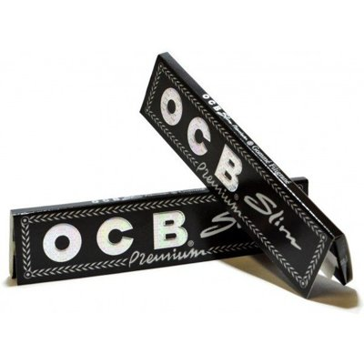 Ocb Bibułki Slim Premium Black