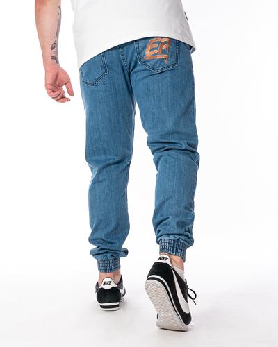 Spodnie Jeans Jogger Slim El Polako Ep Tag Jasnoniebieskie