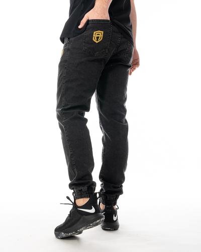 Spodnie Jeans Jogger Street Autonomy Popular II Czarne