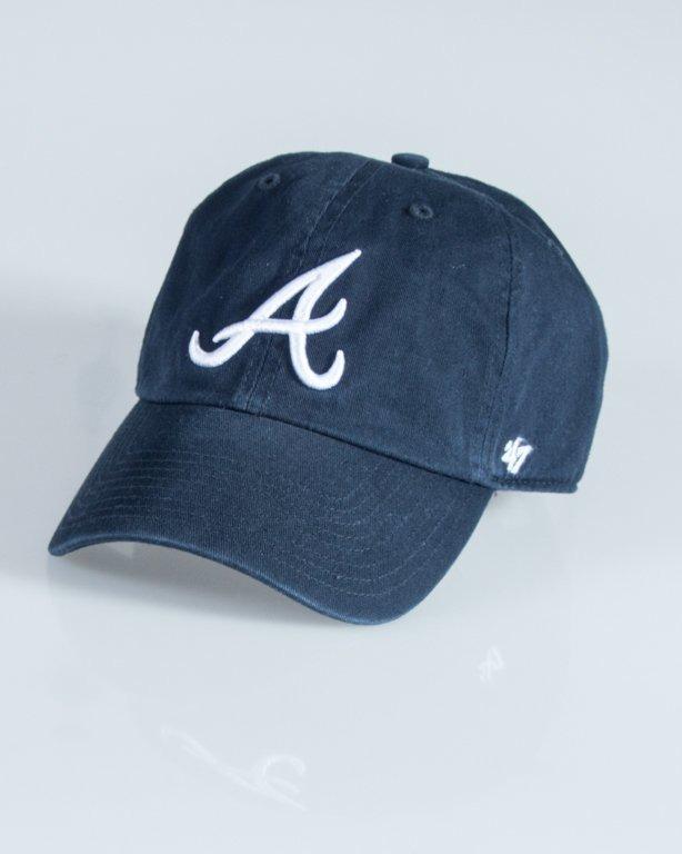 47 BRAND CAP ATLANTA BRAVES NAVY