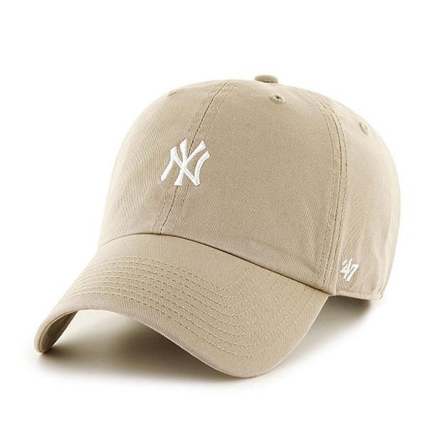 47 BRAND CAP MLB NEW YORK YANKEES HIRNO KHAKI