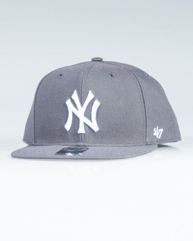 47 BRAND SNAPBACK MLB NEW YORK YANKEES GREY