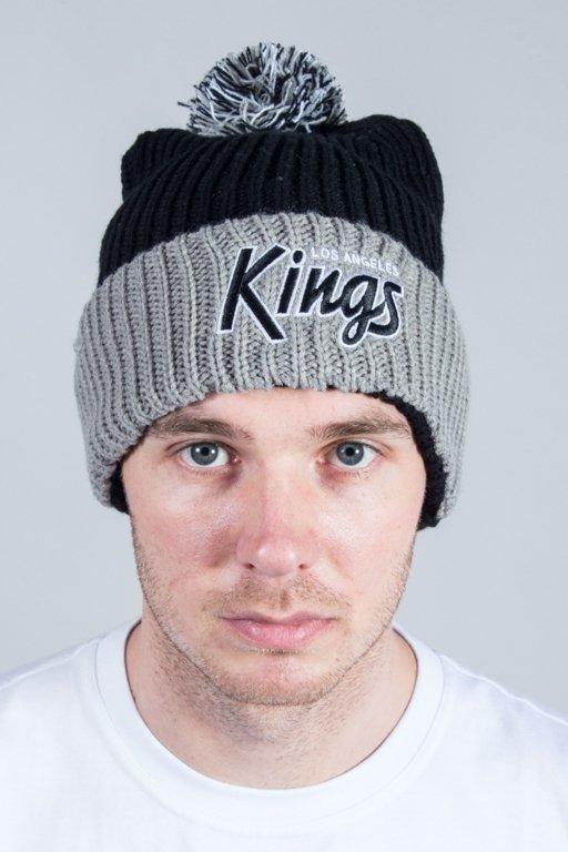 47 BRAND WINTER CAP SKI TRACK CUFF KNIT LA KINGS