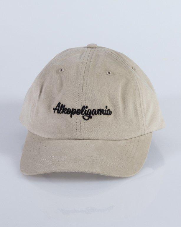 ALKOPOLIGAMIA CAP DRES BEIGE