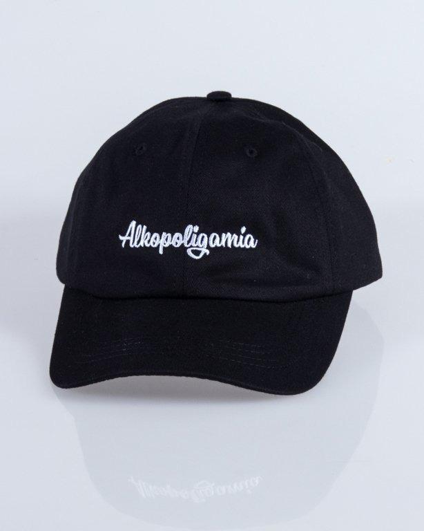 ALKOPOLIGAMIA CAP DRES BLACK