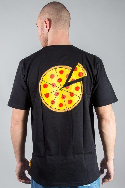 ALKOPOLIGAMIA T-SHIRT PIZZA SPORT SMALL BLACK