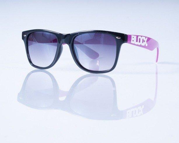 BLOCX OKULARY BLOCX BLACK-PURPLE