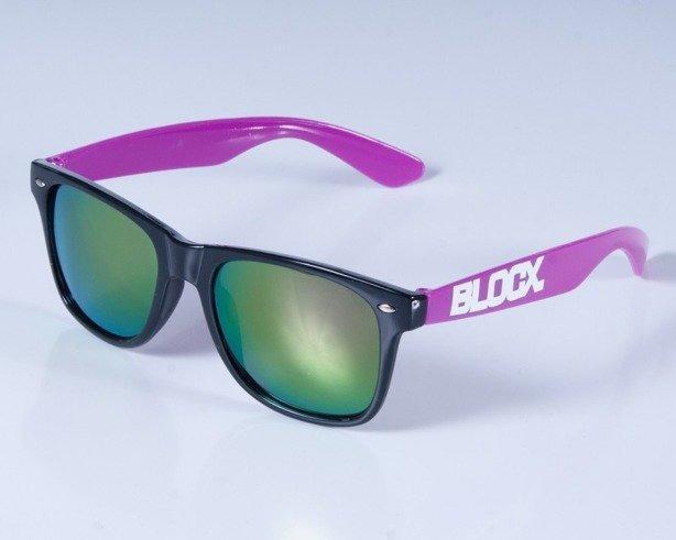 BLOCX OKULARY BLOCX BLACK VIOLET COL
