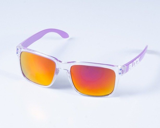 BLOCX OKULARY FREESTYLE CLEAR PURPLE