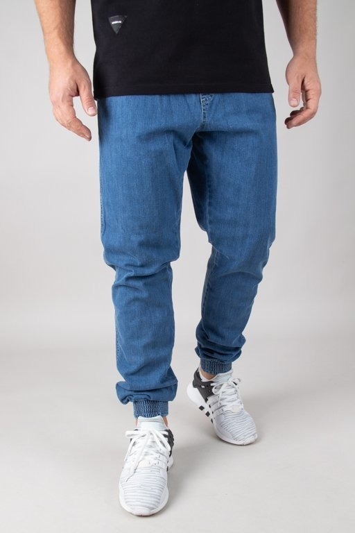 BOR JEANS JOGGER FIT GUMA CLASSIC BORCREW OUTLINE LIGHT