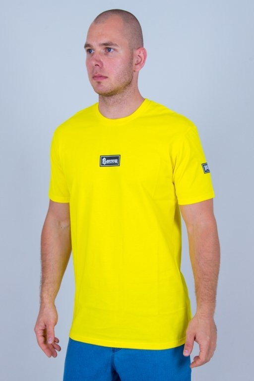 BOR T-SHIRT GOTYK YELLOW