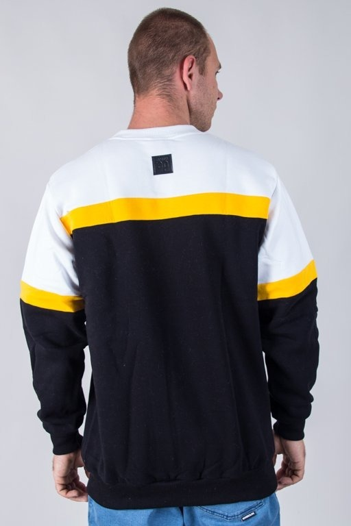 Bluza El Polako Colors Cut White-Black