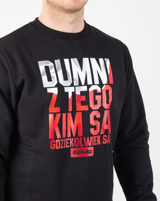 Bluza El Polako Dumni Pl Black