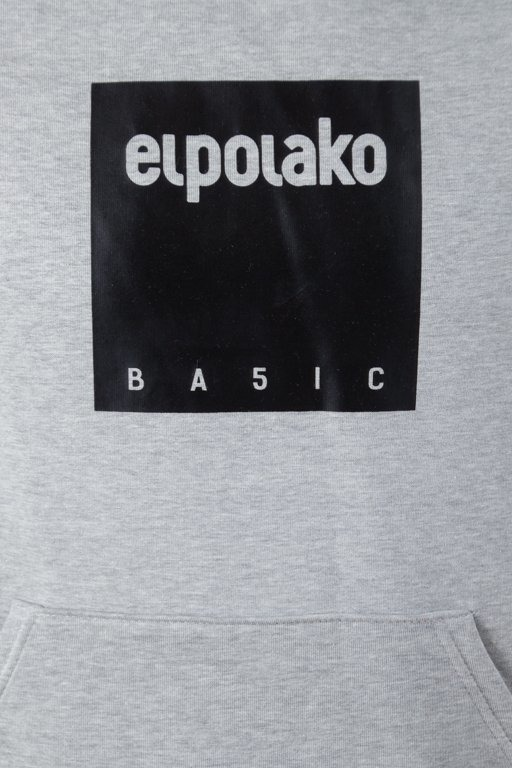 Bluza El Polako Hoodie Box Style Melange