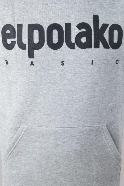 Bluza El Polako Hoodie Classic Melange