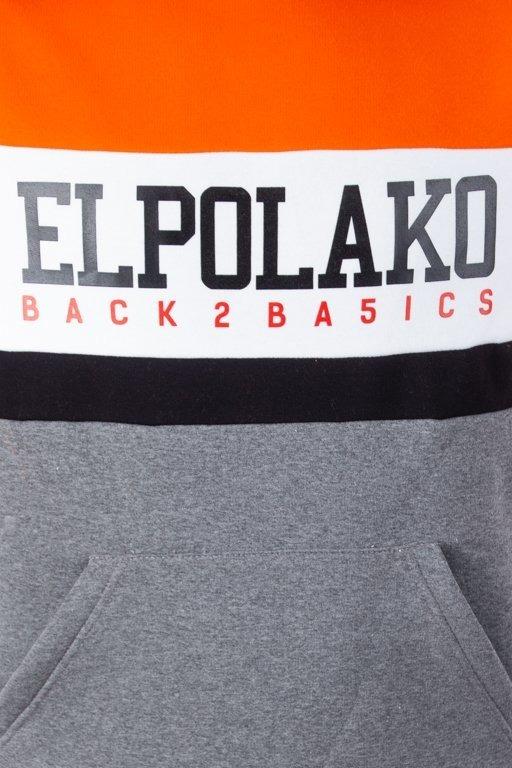 Bluza El Polako Hoodie School Orange