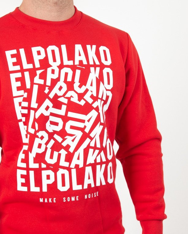 Bluza El Polako Noise Red