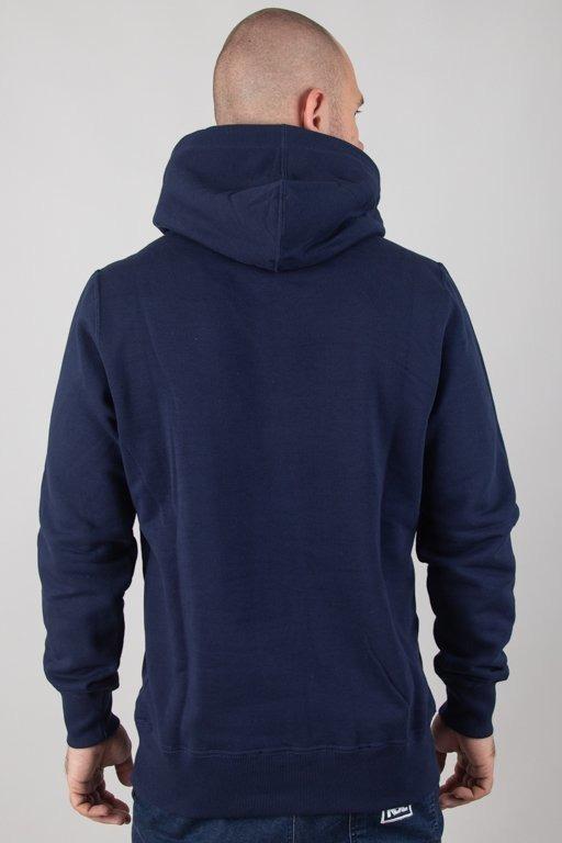 Bluza Elade Hoodie Square Navy