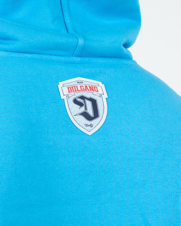 Bluza Hoodie Diil Adventure Light Blue