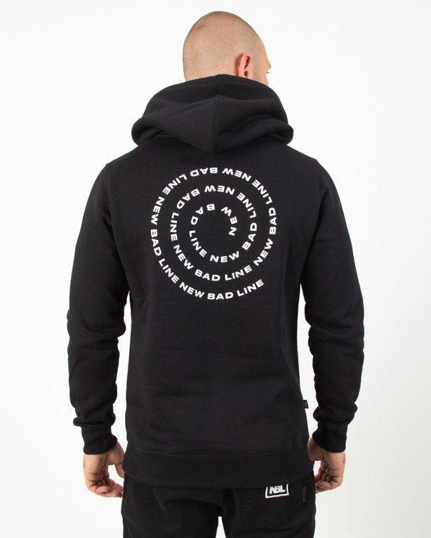 Bluza Hoodie New Bad Line Spiral Black
