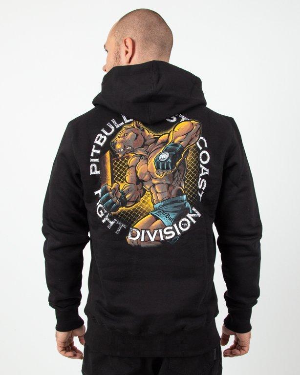 Bluza Hoodie Pitbull Fight Club Black