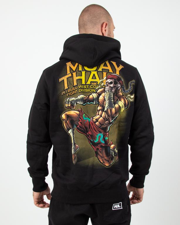 Bluza Hoodie Pitbull Muay Thai 2019 Black