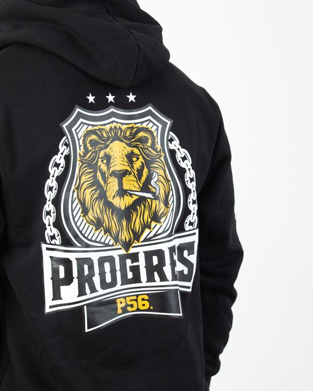 Bluza Hoodie Prorok56 Lion Black