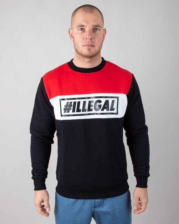 Bluza Illegal Classic Red-Black