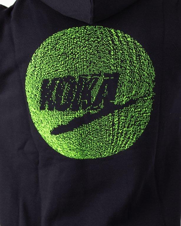 Bluza Koka Hoodie Fake Ball Black