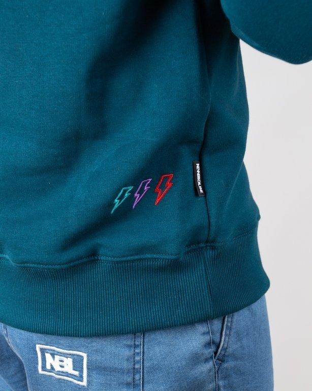 Bluza New Bad Line Blocks Emerald