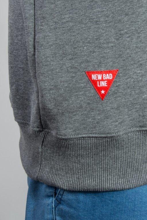 Bluza New Bad Line Dobry Człowiek Grey