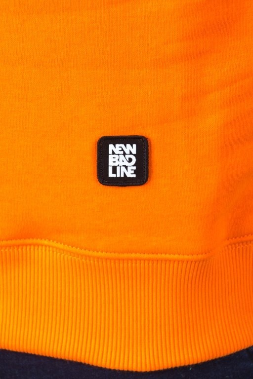 Bluza New Bad Line Draw Orange