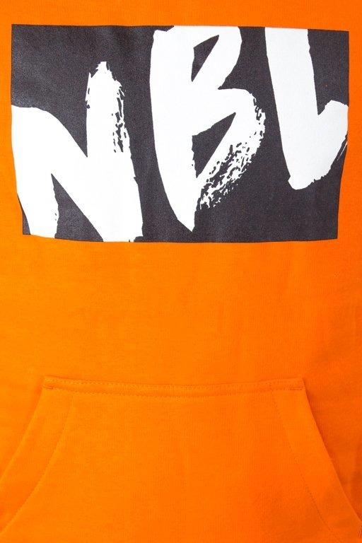 Bluza New Bad Line Hoodie Draw Orange