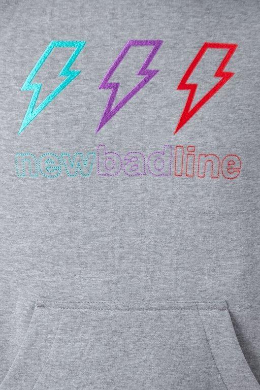 Bluza New Bad Line Hoodie Thunder Melange