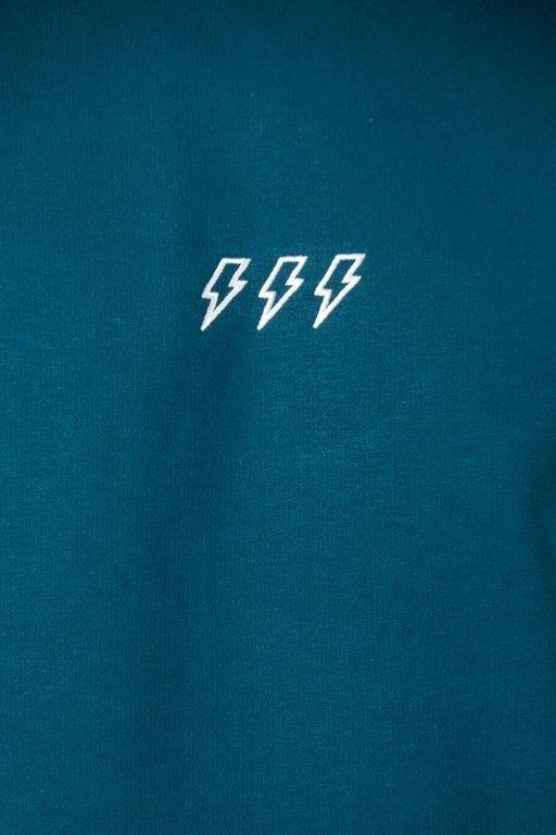 Bluza New Bad Line Sleeve Emerald