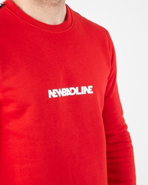 Bluza New Bad Line Tape Red