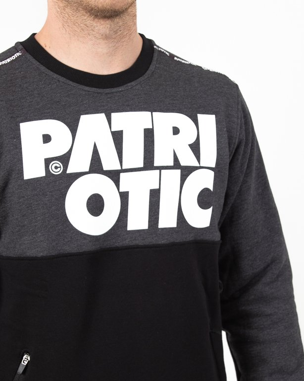 Bluza Patriotic Cls Shoulder Black-Grafit