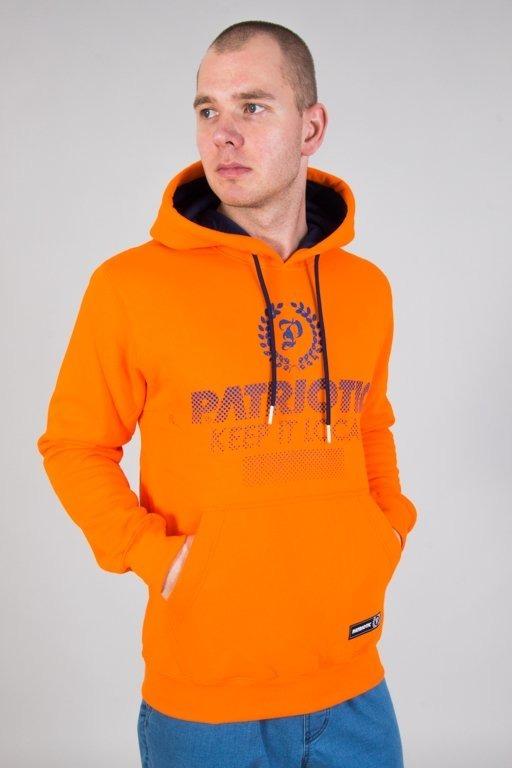 Bluza Patriotic Hoodie Half Laur Orange