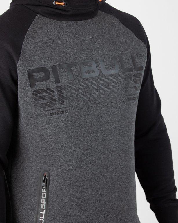 Bluza Pitbull Hoodie Logan 2 Colors Graphite-Black