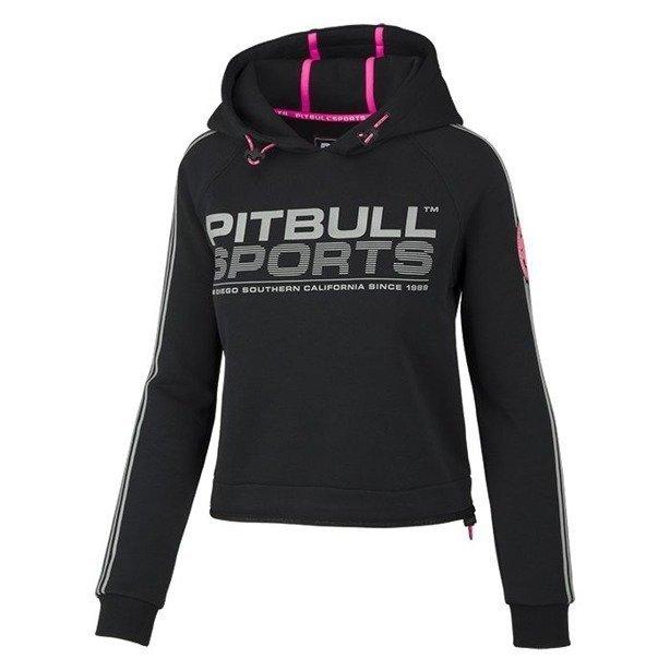 Bluza Pitbull Hoodie Woman Athletica Black