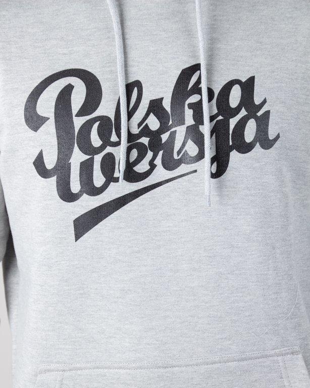 Bluza Polska Wersja Hoodie Polska Wersja Melange