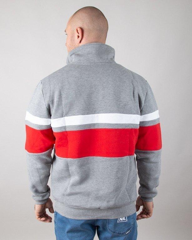 Bluza Prosto Half Zip Roadz Grey