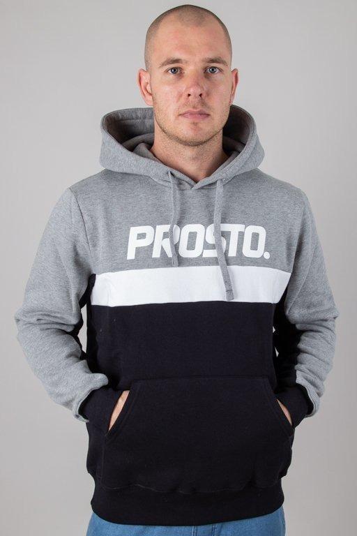Bluza Prosto Hoodie Done Grey-Black