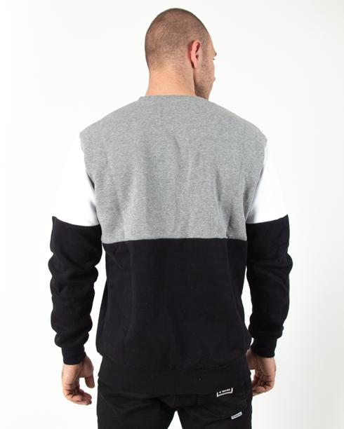 Bluza Prosto Lay Grey-Black