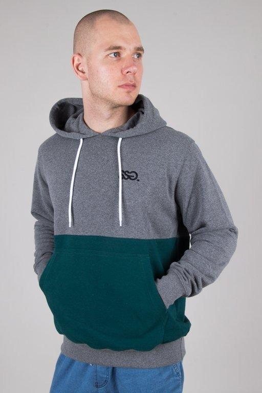 Bluza SSG Hoodie Light Half Grey-Green